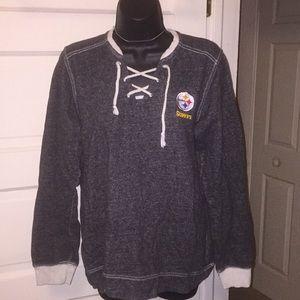Steeler sweatshirt V-neck